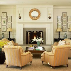 Arrangement Of Living Room Furniture Idea Brown Sofa Ideas Create Order With Symmetry