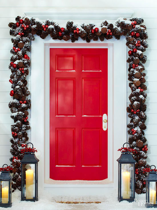 Garland Christmas Decoration Ideas