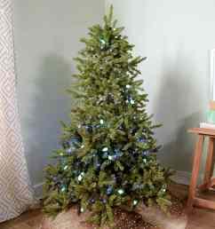 hanging christmas lights on tree video still [ 1280 x 1280 Pixel ]