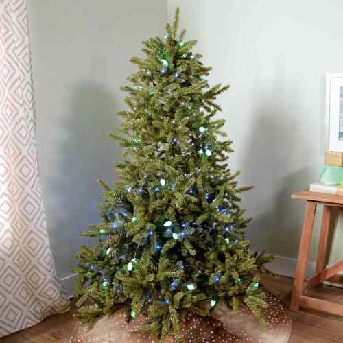 small resolution of hanging christmas lights on tree video still