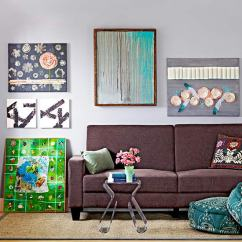 Diy Canvas Art For Living Room Area Rugs Rooms 14 Easy Wall Projects Artwork
