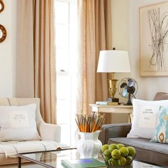 How To Arrange Living Room Furniture Decorate An Apartment No Fail Tricks Traditional Sitting Area With Neutral Tones