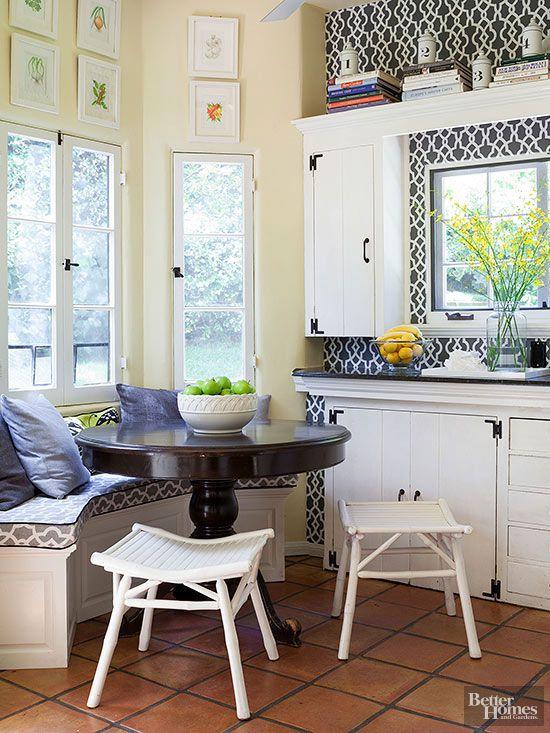 Breakfast Nook Ideas Better Homes Amp Gardens