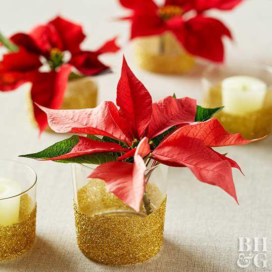 25 simple christmas centerpieces