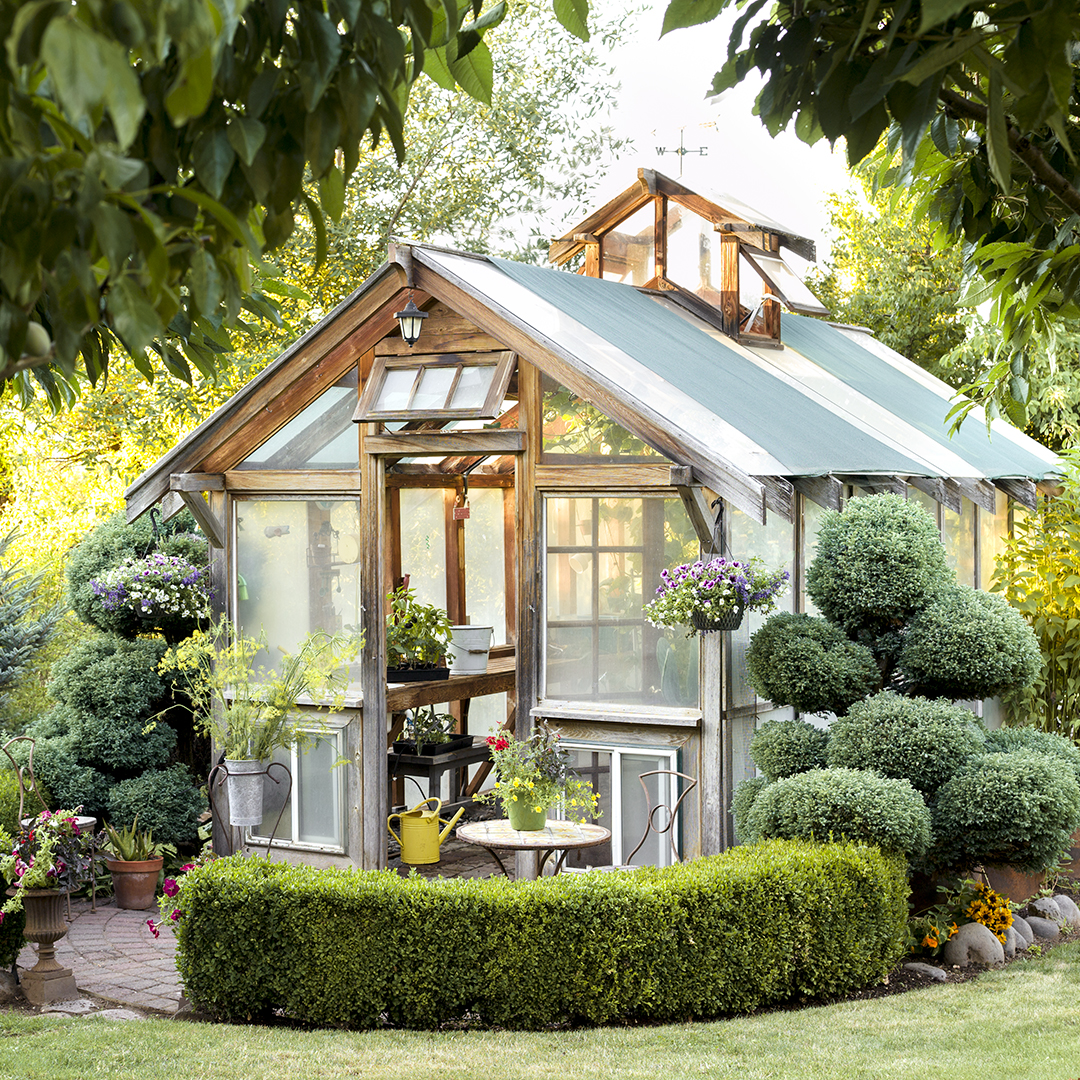 A Gallery of Garden Shed Ideas  Better Homes  Gardens