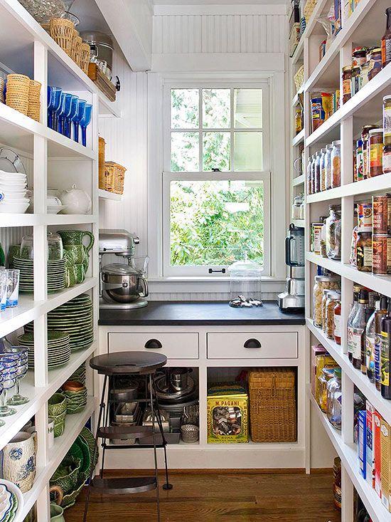 Kitchen Pantry Design Ideas  Better Homes  Gardens