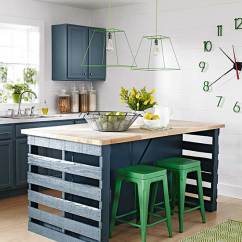 Pictures Of Kitchen Islands Tile Floor Ideas Better Homes Gardens How To Build A Island From Wood Shipping Pallets
