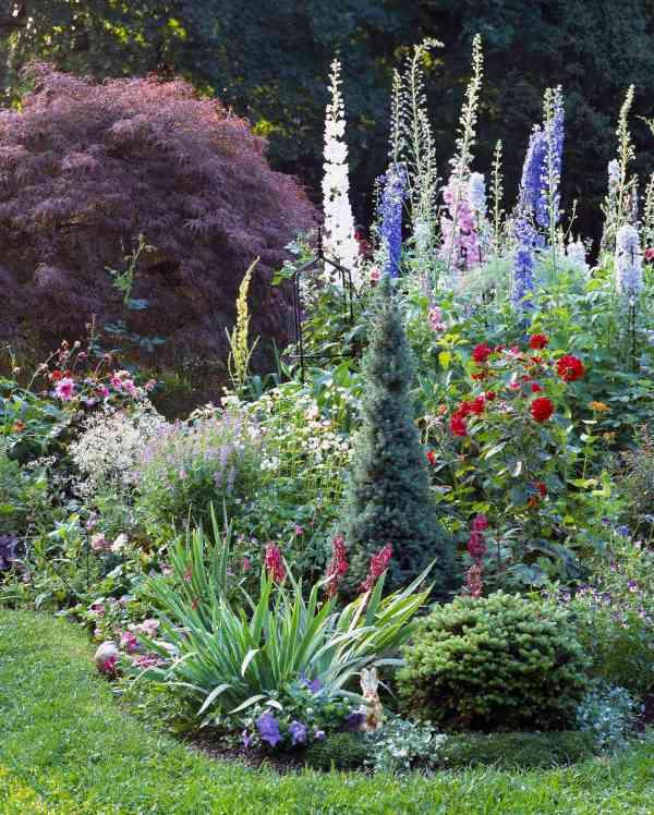 6 steps -work cottage garden
