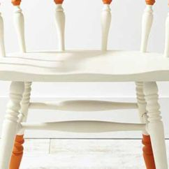 Diy Painted Windsor Chairs Stool Chair Design 5 Makeovers That You Need To See Crisp Lines And Bold Color Contrast Give This Style Takes Center Stage Project Relies On Chalk Finish Paint With A Wax For An