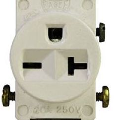 Duplex Receptacle Diagram 2000 Jeep Grand Cherokee Limited Stereo Wiring 120 And 240 Volt Receptacles Single Outlet Air Conditioner