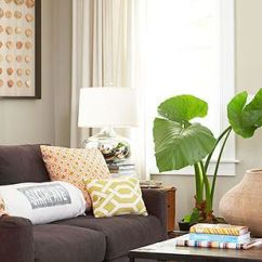 Living Room Design Ideas With Brown Leather Sofa North Carolina Furniture Sets Ways To Decorate A