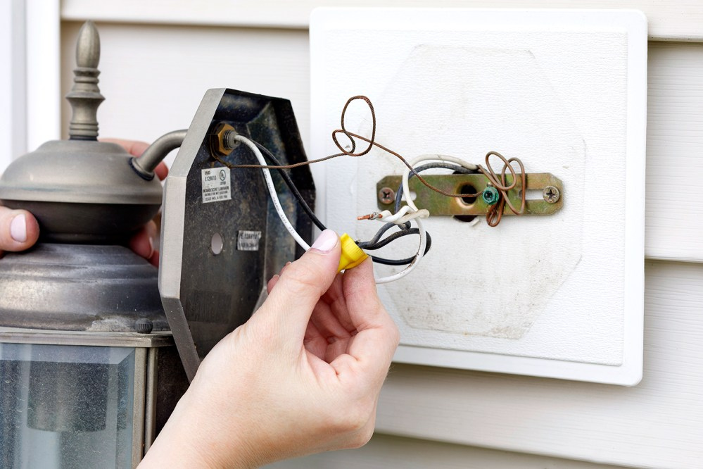 medium resolution of how to replace an outdoor light