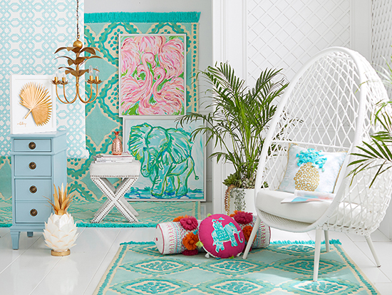 Lilly Pulitzer Pottery Barn Collection Better Homes