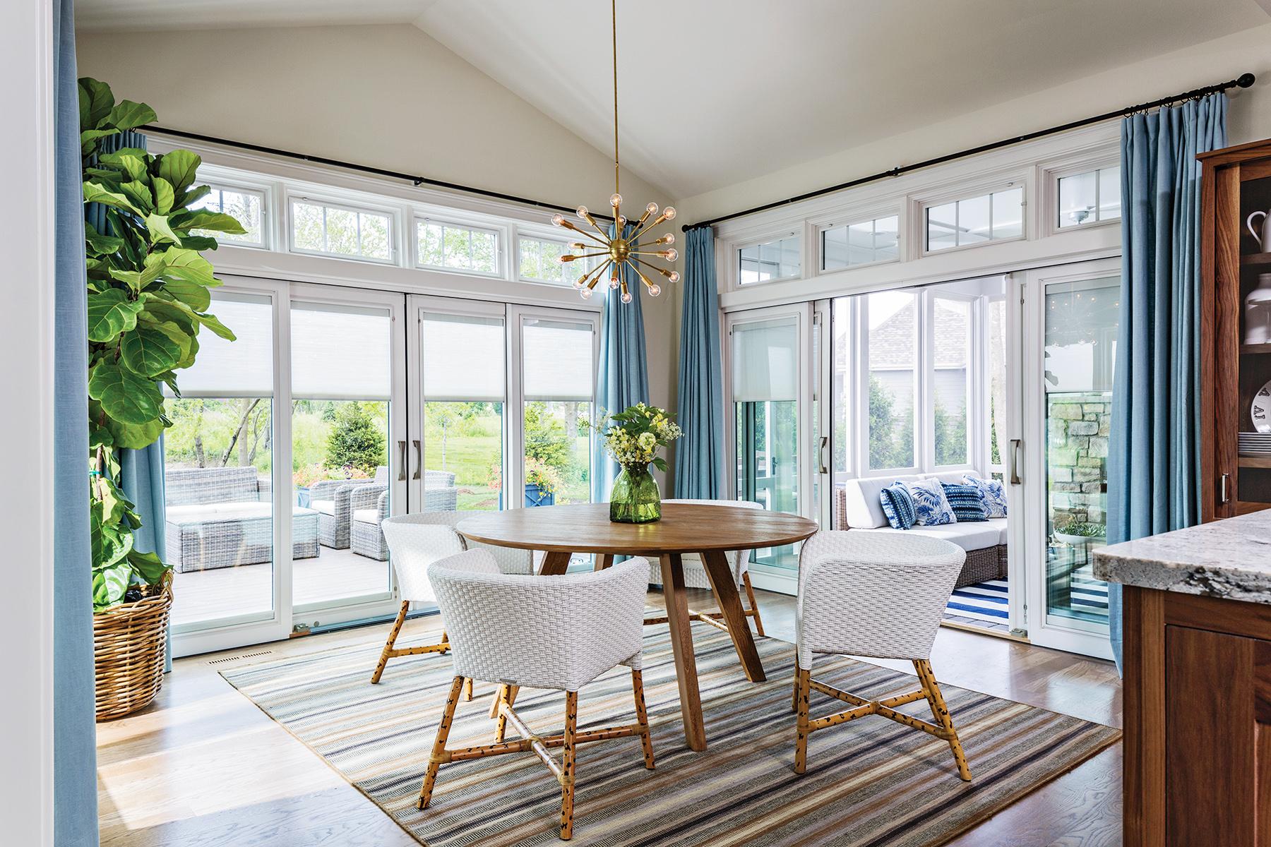 Window Treatment Solutions For Sliding Doors