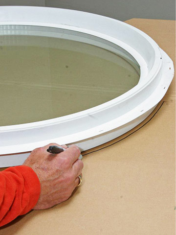 Oval Window Trim Kit