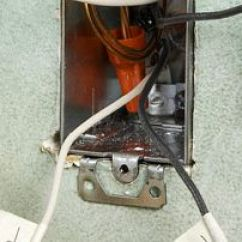3 Wire Thermostat Wiring Diagram For Caravan Solar Panel Replacing A An Electric Baseboard Heater Step Label And Disconnect Wires