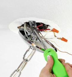 light fixture installation screwdriver how to [ 1597 x 1080 Pixel ]