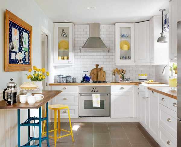 Make Small Kitchen Larger Homes & Gardens