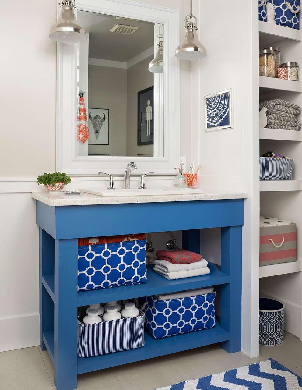 Diy Bathroom Vanity Ideas Better Homes Gardens