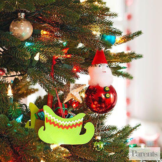 Childrens Handmade Christmas Ornaments