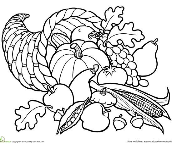fall coloring pages # 21