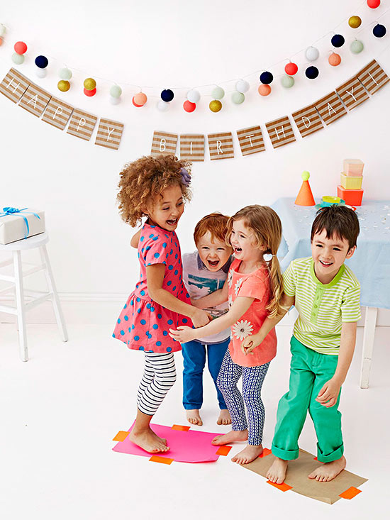 birthday party activities for