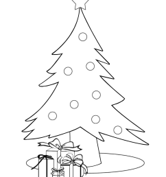 13 Printable Christmas Coloring Pages for Kids   Parents [ 1206 x 1014 Pixel ]