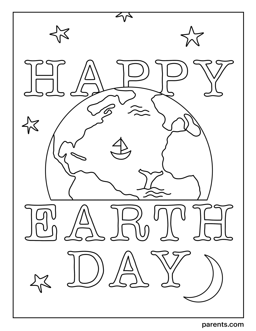 medium resolution of 10 Free Earth Day Coloring Pages for Kids   Parents