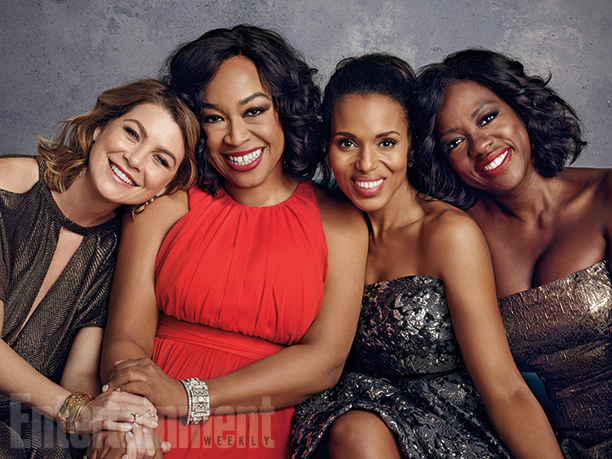Shondaland roundtable: Viola Davis, Ellen Pompeo, and Kerry Washington go  unfiltered | EW.com