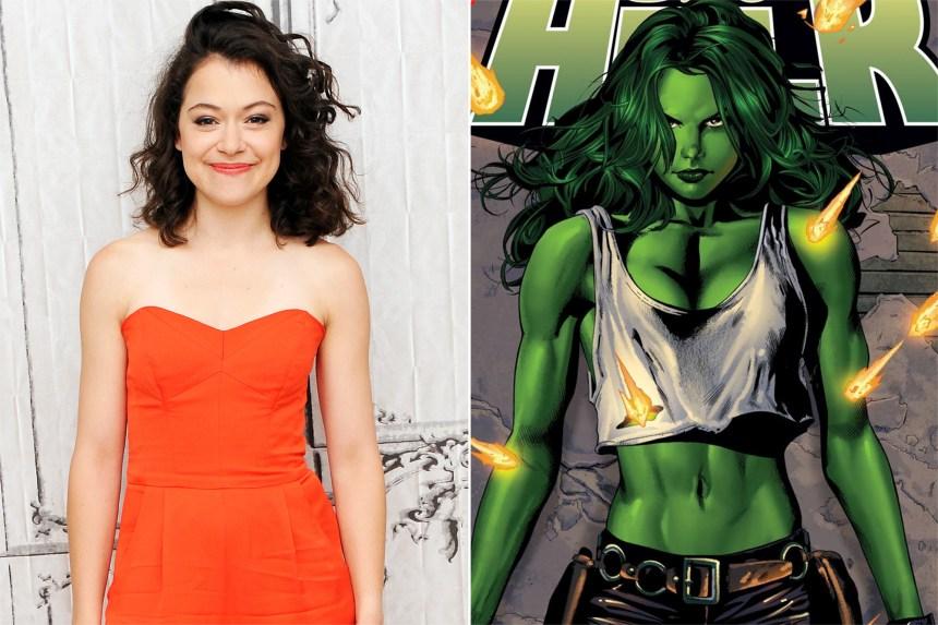 Tatiana Maslany to star in Marvel's She-Hulk Disney+ series   EW.com