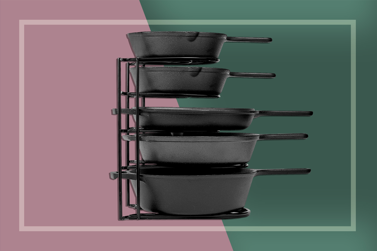 the cuisinel heavy duty pan organizer