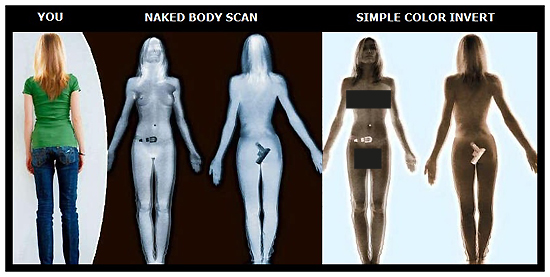 TSA Naked Body Scanner