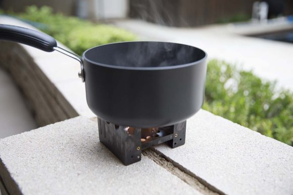 Pot on Portable Stove