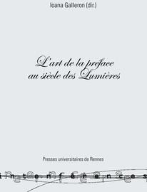 Exemple De Préface D Un Livre : exemple, préface, livre, L'art, Préface, Siècle, Lumières, Introduction, Presses, Universitaires, Rennes