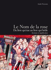 Le Nom De La Rose Livre Pdf : livre, Rose,, Livre, Brûle, Introduction, Presses, Universitaires, Rennes
