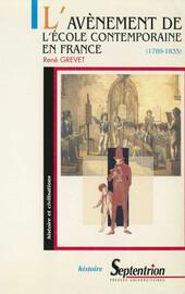 Histoire de l'éducation nationale de 1789 à nos jours : de