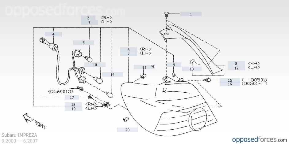 Wiring Diagrams 2002 Subaru Wrx 05 Wagon Tail Light Swap Into 07 Wagon Nasioc