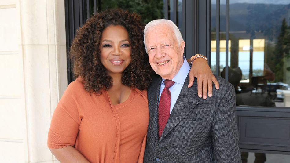 Oprah and Former President Jimmy Carter