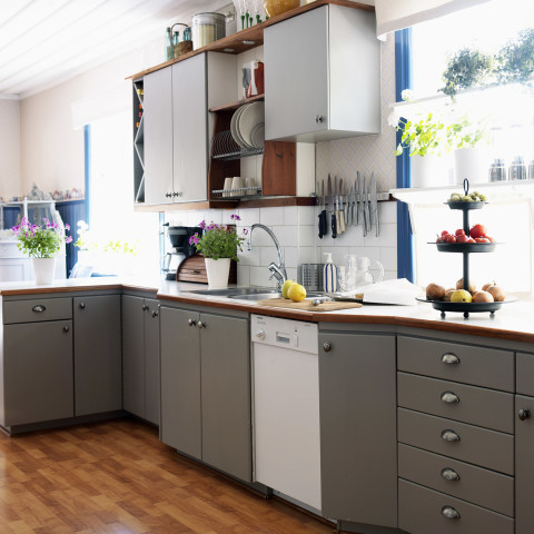 kitchen upgrades plans cheap the new paint trend two tone cabinets