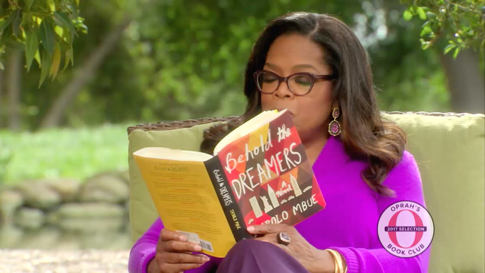 Image result for oprah reading book