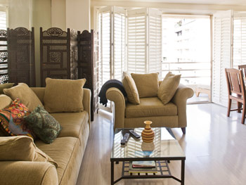 Kerry Washingtons Green Apartment Makeover