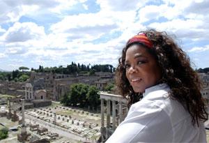 Oprah in Rome