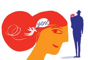 Intuition illustration by Lara Harwood