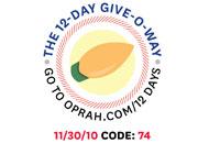 O's 12-Day Holiday Give-O-Way Sweepstakes nov 30 icon