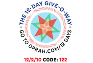 O's 12-Day Holiday Give-O-Way Sweepstakes december 2 icon