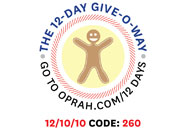 O's 12-Day Holiday Give-O-Way Sweepstakes december 10 icon