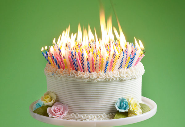 Image result for Birthday Cake with Many Candles