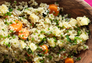 Quinoa with Vegetables and Herbs