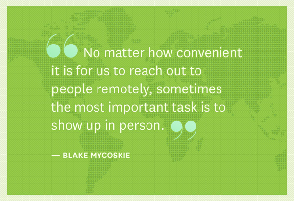 Blake Mycoskie quote