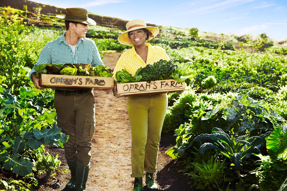 Oprah's Organic Hawaiian Farm